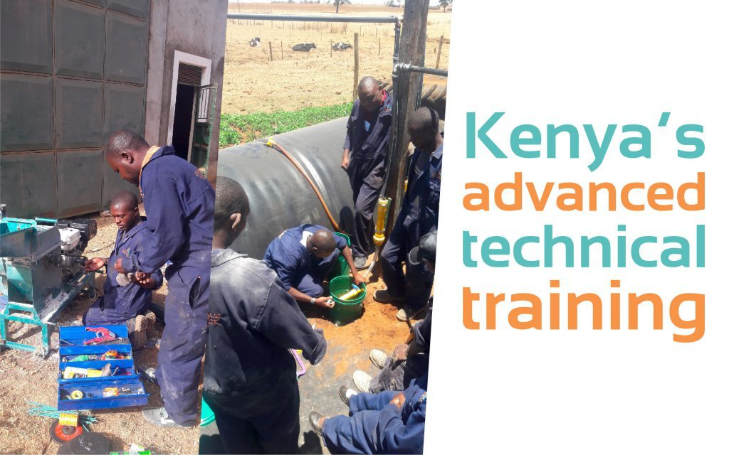 kenya, advanced techincal training, biodigester