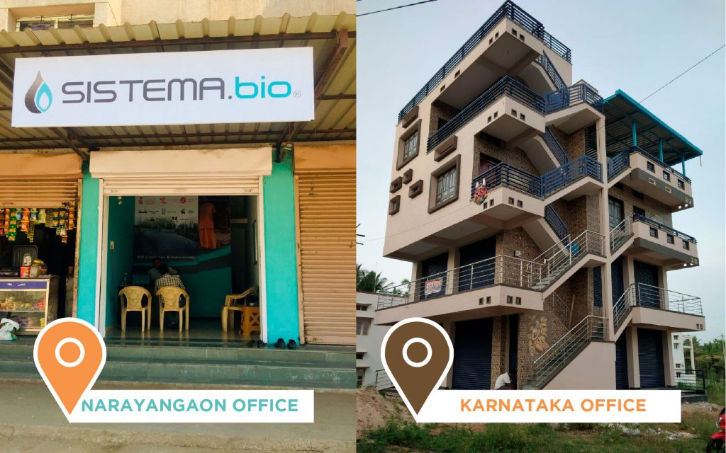 India offices, sistemabio