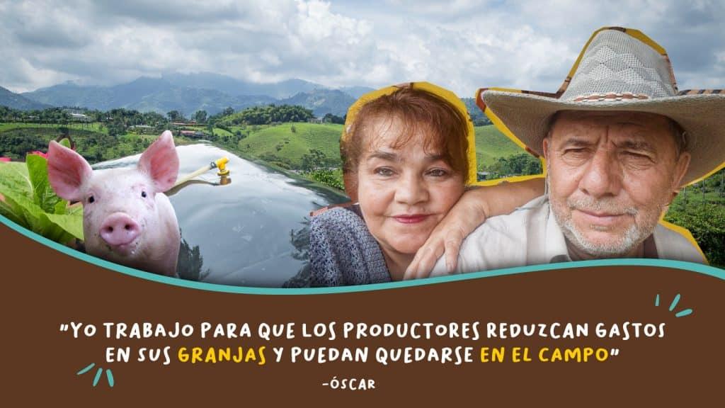 biodigestores y productores colombianos