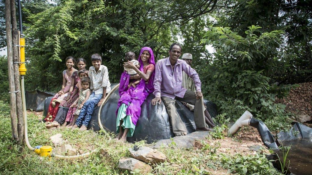 gobar gas biodigester plant india