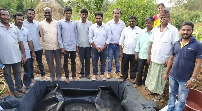 sistema.bio biogas india digester gobar gas plant