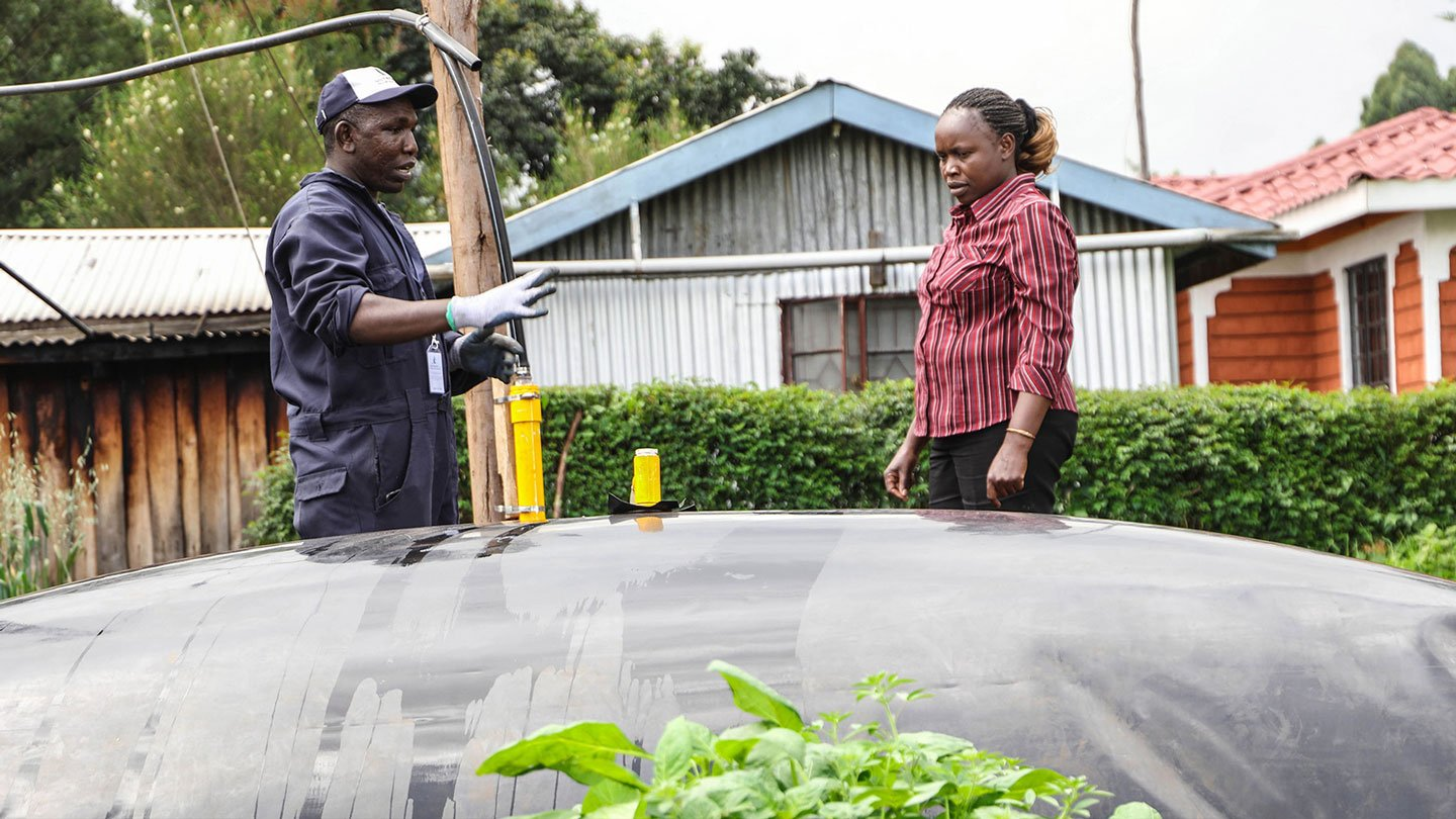 Blazing the blue biogas flame; 15 counties, three countries and counting