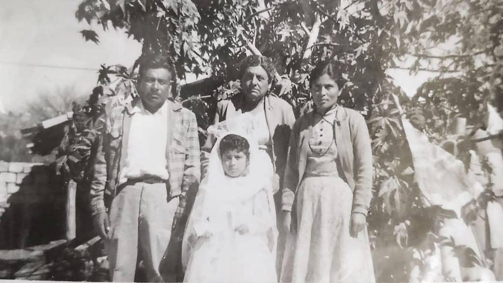 familia campo oaxaca 1950