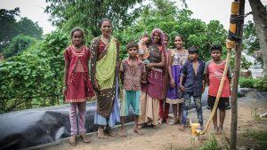 Mujeres de la India tomando el control de sus vidas con biodigestores