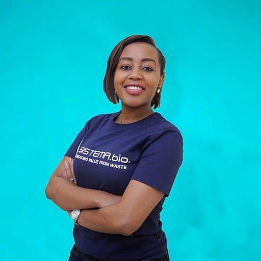 Sistemabio, Jackline Mwandawiro