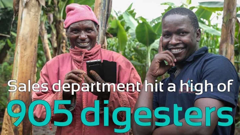 Sistema.bio sales achievements in Kenya